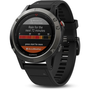 Fenix 5 GPS Watch - Slate Grey - Performer Bundle