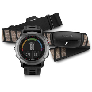 Fenix 3 - Performer Bundle (heart rate) - Grey
