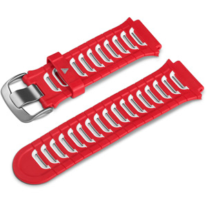 Replacement wrist bands - FR920XT - red / white