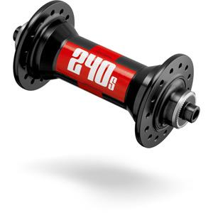 240s front hub 20 hole 100 mm black