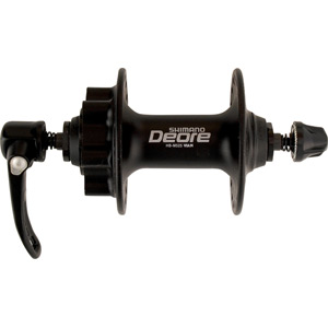 HB-M525 Deore disc front hub, black 36 hole