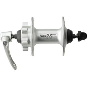 HB-M756 XT disc front hub 6-bolt 36 hole silver