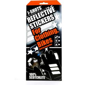 I-Shot reflective sticker kit - triangles