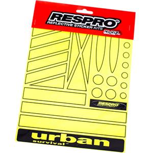 Hi-Viz fluorescent yellow regular shapes