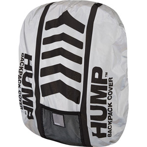 Speed HUMP waterproof rucsac cover, reflective silver