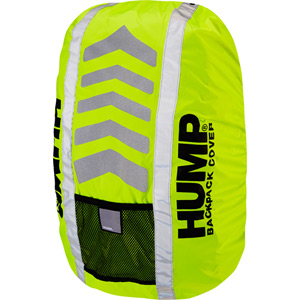 Big HUMP waterproof rucsac cover 50 litre, safety yellow
