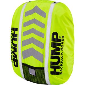 Deluxe HUMP waterproof rucsac cover, safety yellow