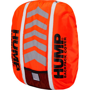 Deluxe HUMP waterproof rucsac cover, shocking orange