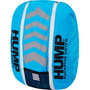 Deluxe HUMP waterproof rucsac cover, atomic blue
