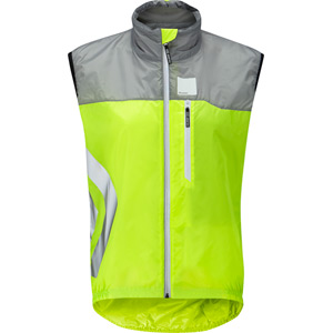 Flare women's gilet, safety yellow size 10