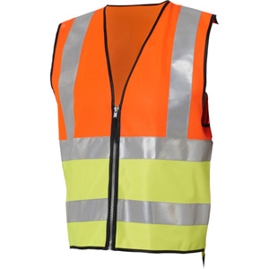Hi-viz reflective vest conforms to EN471 standard - kids