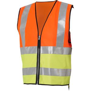 Hi-viz reflective vest conforms to EN471 standard - kids