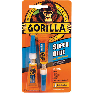 Gorilla Superglue 2 x 3 g Pack of 10