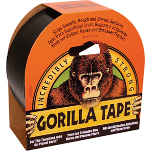 Gorilla Black Tape 11m x 48mm Pack of 6