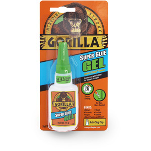 Gorilla Superglue Gel 15 g Pack of 6