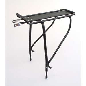 Ridge rear pannier rack - disc silver