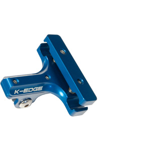 K-Edge Go Big Pro Saddle Rail Mount - blue blue