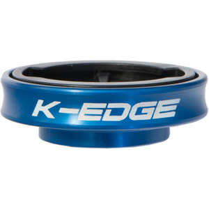 K-Edge Gravity Cap Mount for Garmin Edge and FR 1/4 Turn type computers - blue blue