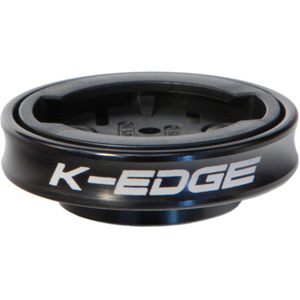 K-Edge Gravity Cap Mount for Garmin Edge and FR 1/4 Turn type computers - black black