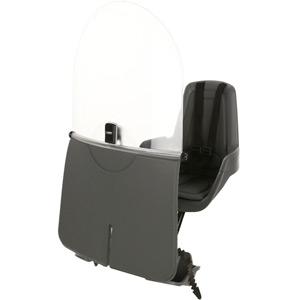 Mini Classic windscreen - smokey grey