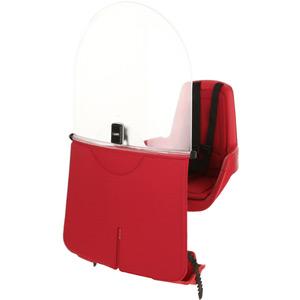 Mini Classic windscreen - raspberry red
