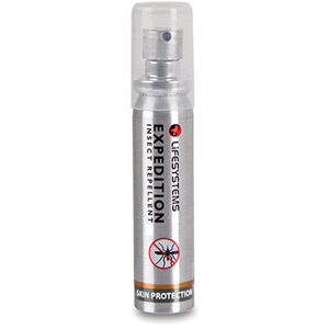 Lifesystems Expedition Insect Repellent - 25ml Spray - Box of 20 silver ano