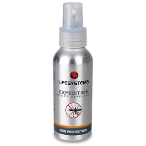 Lifesystems Expedition - 100ml SPRAY - box of 10 silver ano