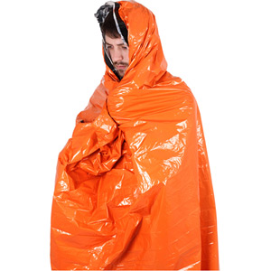 Lifesystems Thermal Light and Dry Survival Bag orange