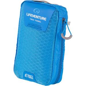 Lifeventure SoftFibre Trek Towel - Large - Blue blue