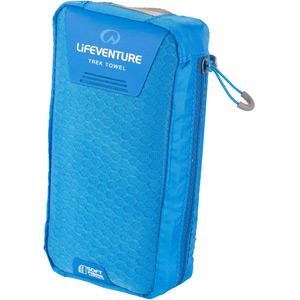 Lifeventure SoftFibre Trek Towel - X-Large - Blue blue