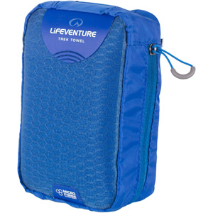 Lifeventure MicroFibre Trek Towel - Large - Blue blue