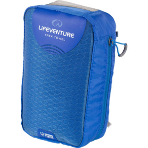 Lifeventure MicroFibre Trek Towel - X Large - Blue blue