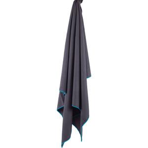 Lifeventure SoftFibre Lite Trek Towel - Large - Grey grey