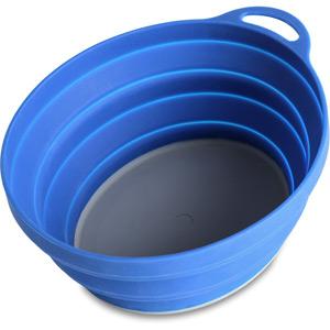 Lifeventure Silicone Ellipse Bowl - Blue blue