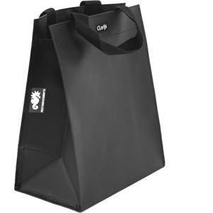 Single inner sleeve shopping bag to fit Clarijs pannier, Matt black