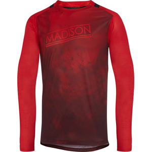 Flux Enduro men's long sleeve jersey, marble