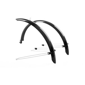 Commute full length mudguards 700 x 38mm black