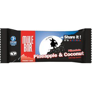 MuleBar energy bar - 40g - Pinacolada Box of 30