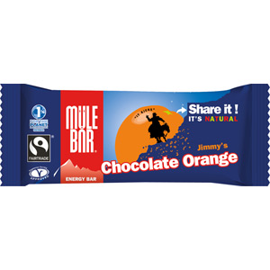 MuleBar energy bar - 40g - Jimmy's Chocolate Orange