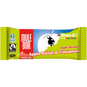 MuleBar energy bar - 40g - Apple Strudel