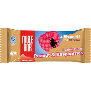 MuleBar energy bar - 40g - Peanut Punch