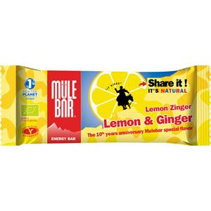 MuleBar energy bar - 40g - Lemon and Ginger