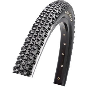 Maxxis Larsen TT 26x1.90 60 TPI Wire Single Compound tyre Black