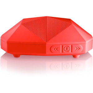 Turtle Shell - Go Anywhere Boombox - Red