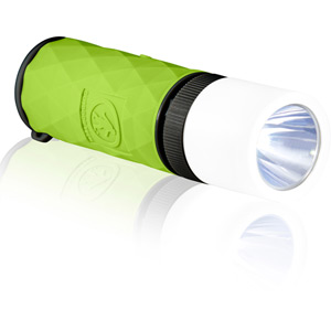 Buckshot Pro - Mini Wireless Speaker/Flashlight/Powerbank - Glow