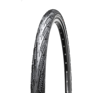 Maxxis Overdrive Maxx 26x1.75 27 TPI Wire Single Compound MaxxProtect tyre Black