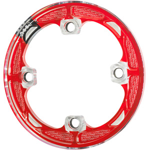 P20s bash guard red, fits 32 - 34 T