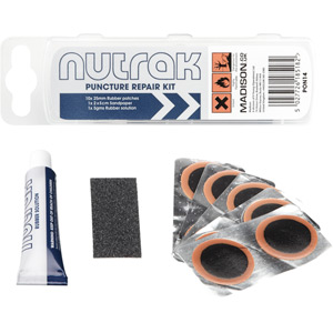 Puncture repair kit, without tyre levers