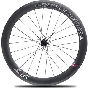 58 Twenty Four Full Carbon Clincher Wheel - Rear