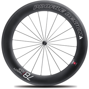 78 Twenty Four Full Carbon Clincher Wheel - Front